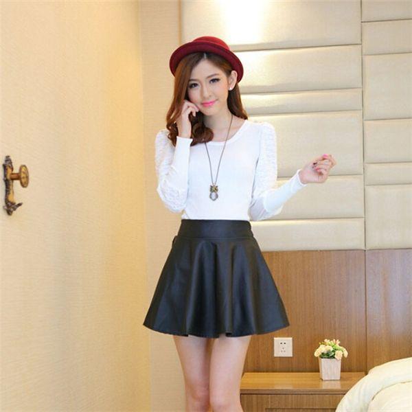5cc7e8b4e Online Buy Wholesale korean girls short skirts from China korean ...