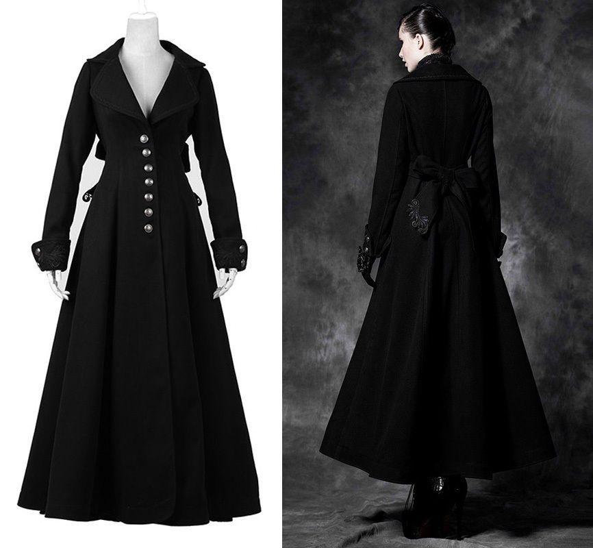 Manteau cintre long femme