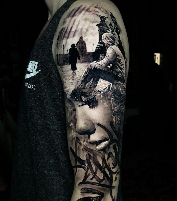 ▷ 1001 + Ideen für 3D Tattoos + Info über alles, was Sie darüber wissen müssen #tattoosandbodyart