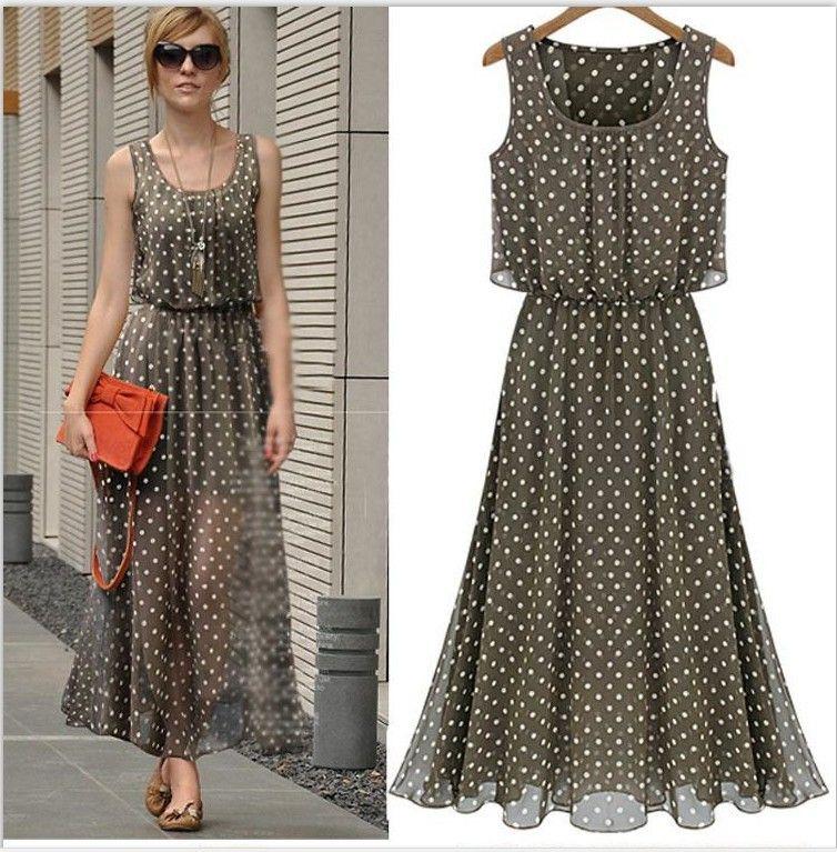 07ee39c51781bc7 шифоновые платья в горошек - Поиск в Google | Dresses | Платья ...