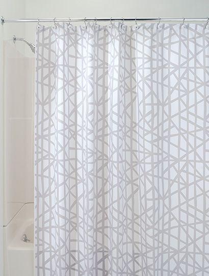 Lino Shower Curtain Bath Dorm Apt Shower Curtain Closet