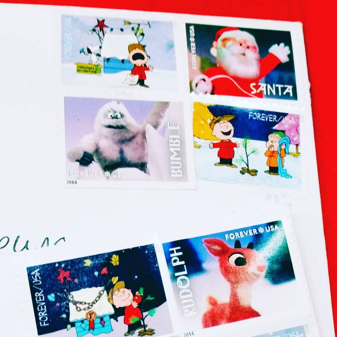Christmasy stamps are the best. 🎄 🎄 🎄 🎄 cocoandduckie