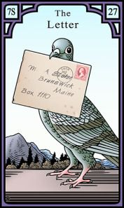 The Letter for the Burning Serpent Oracle, Robert M Place
