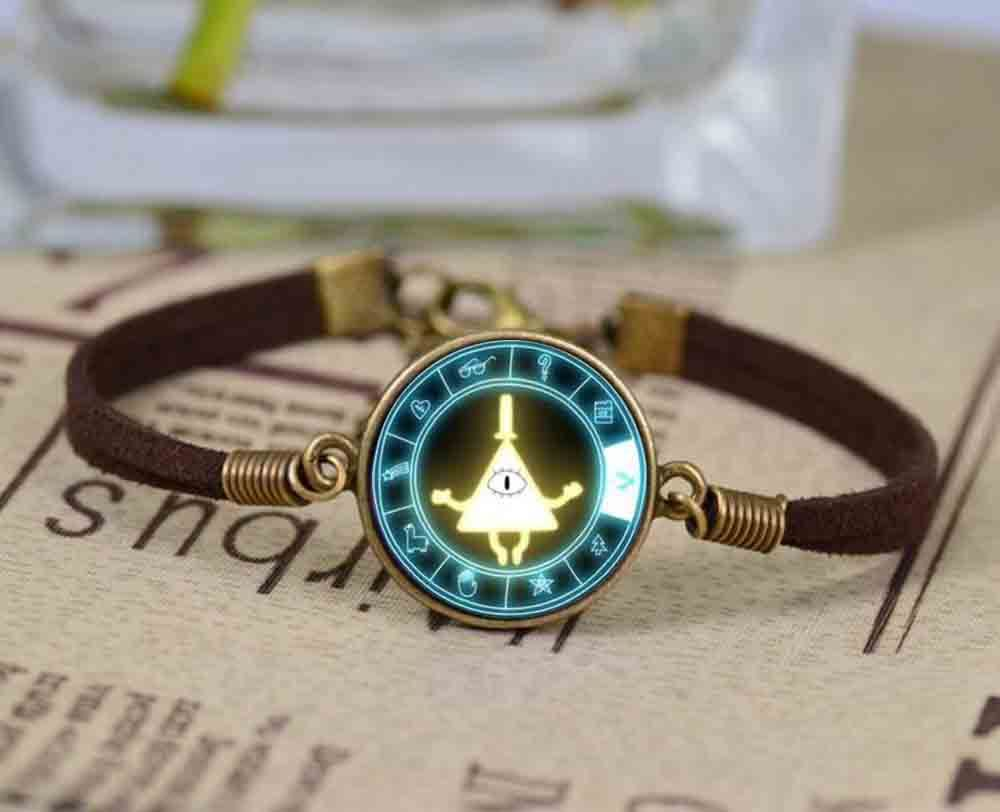 Fashion glass gravity falls mabel pig bill cabochon infinity love