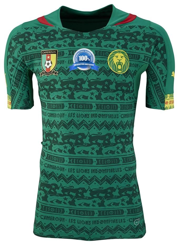 8fb4feb79a3 Custom Cameroon 2014 World Cup Home Mens Soccer Jersey sale $52.99 at  http://