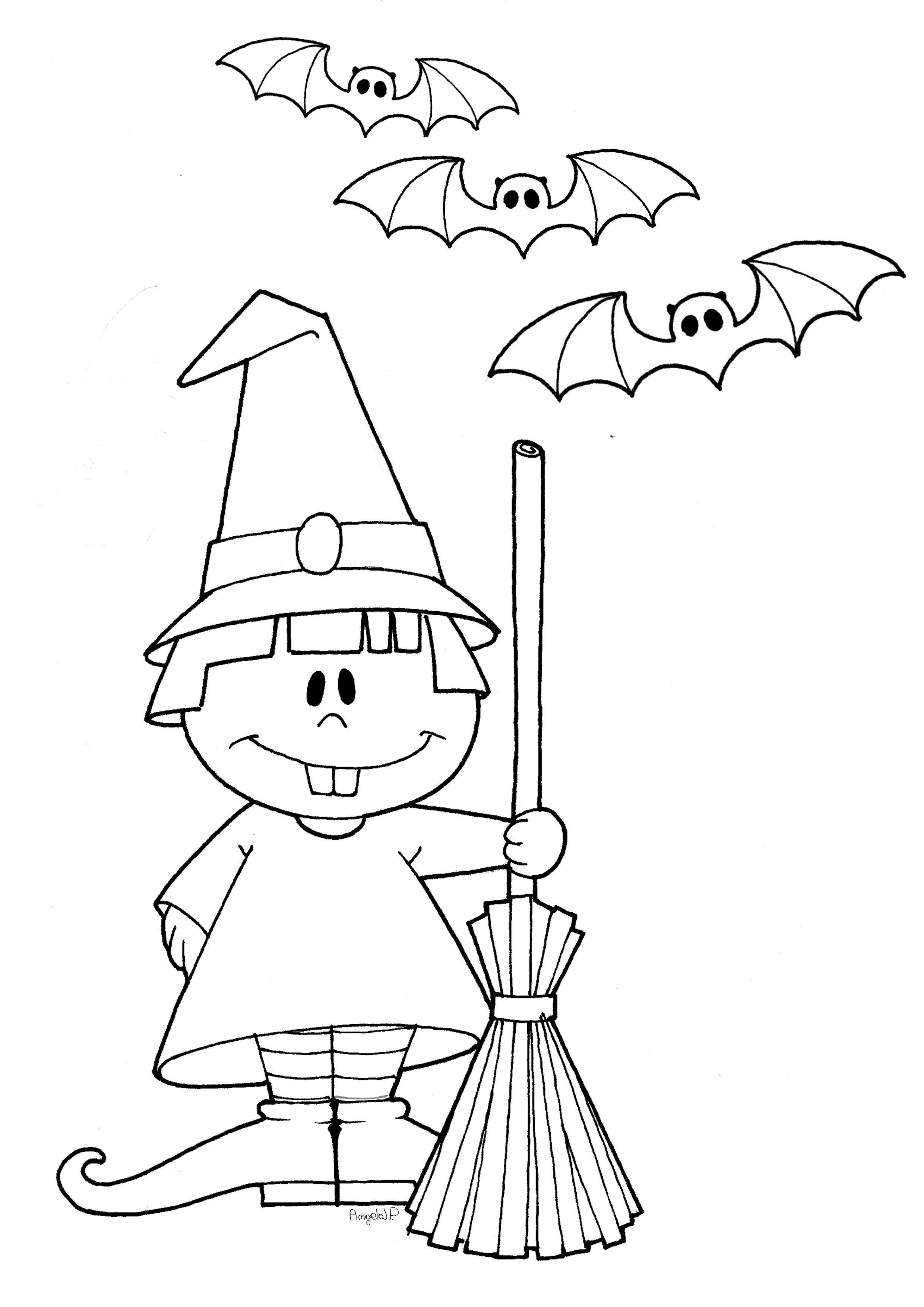 Disegni Da Colorare Halloween Per Bambini Disegni Da Stampare E