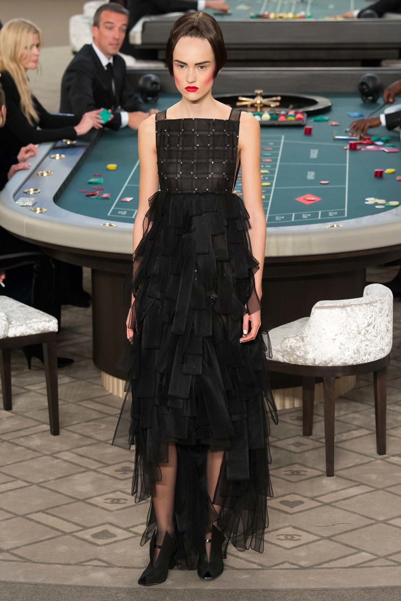 Chanel Fall 2015 Couture Fashion Show - Lexi Boling
