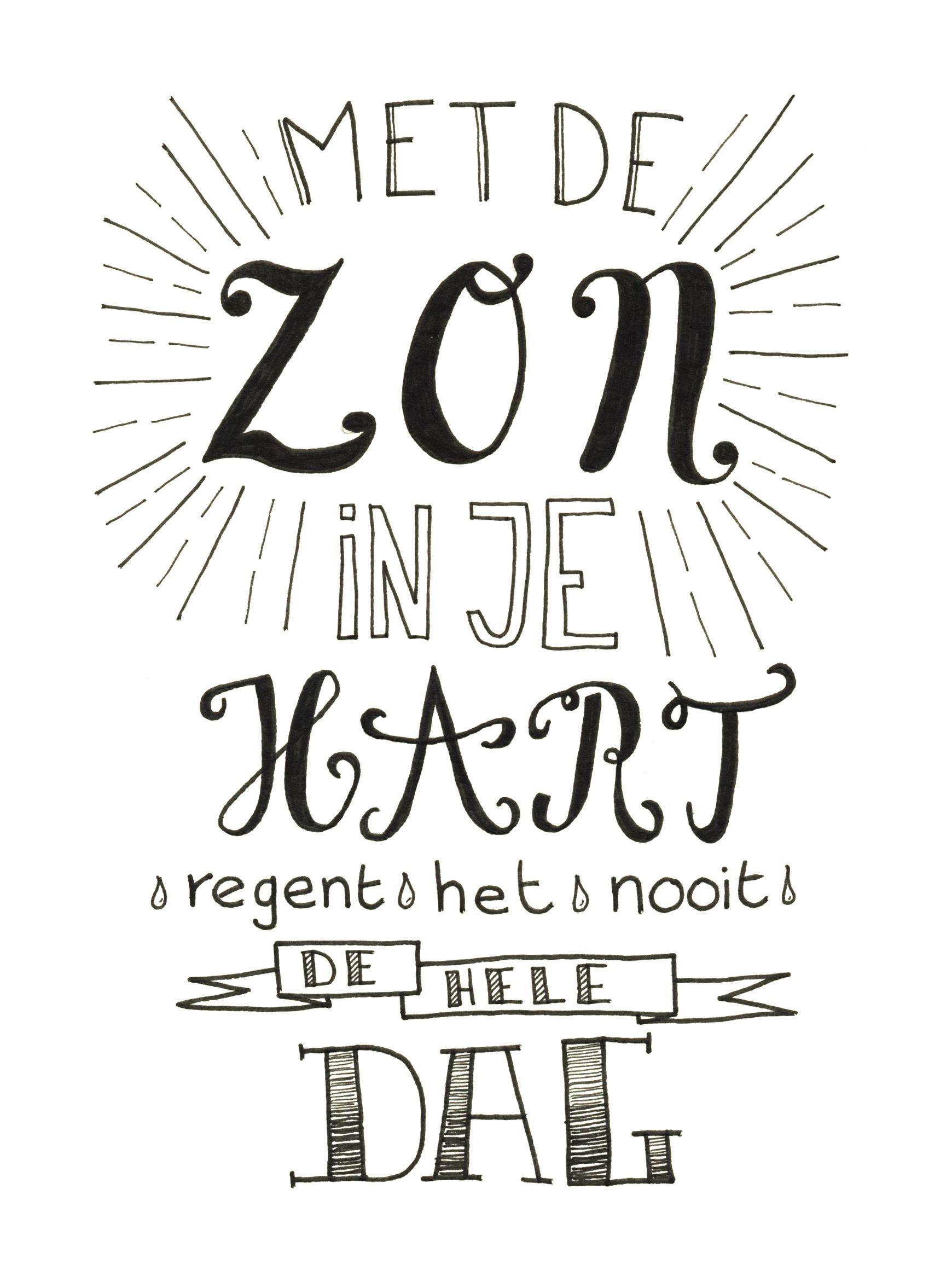 Gemaakt Door Jiska Van Sterrig Handletteren