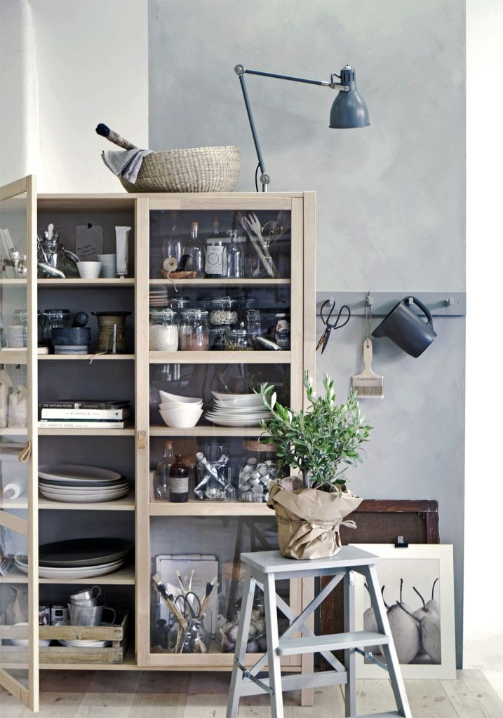stil inspiration new ikea cabinet bj rksn s wonen algemeen pinterest. Black Bedroom Furniture Sets. Home Design Ideas