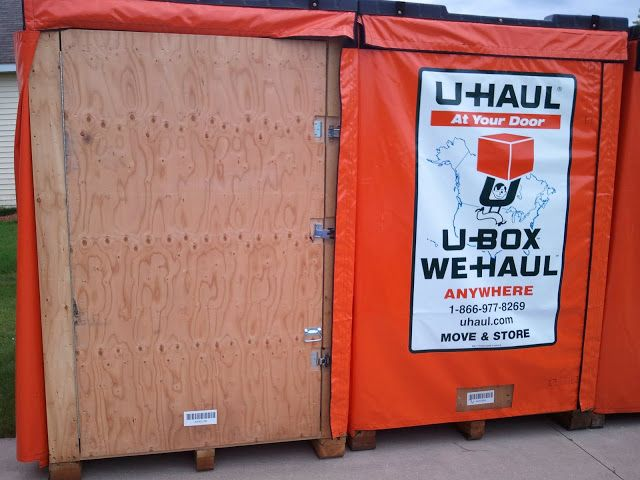 U box container size