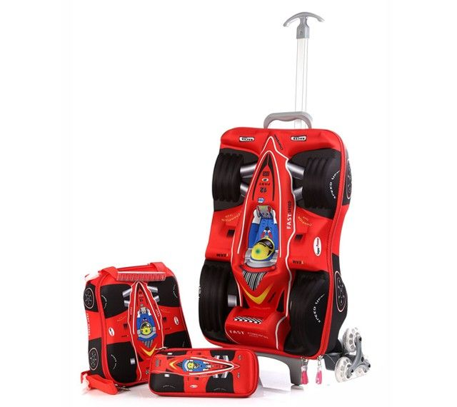 Here Comes 3d Trolley Bag Your Tuff Looking Boy.   3D Trolley Bags ... 6b9023c2c2