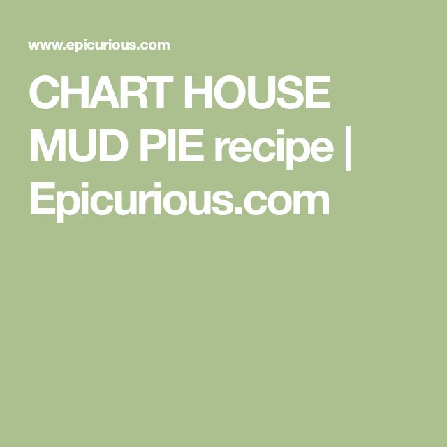 Chart House Mud Pie Recipe Recipes Pinterest Pie Recipes