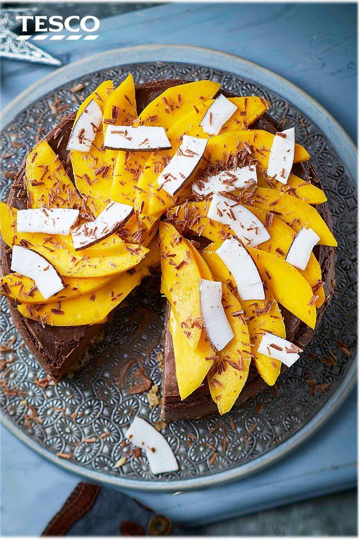Chocolate and coconut torte recipe tesco real food