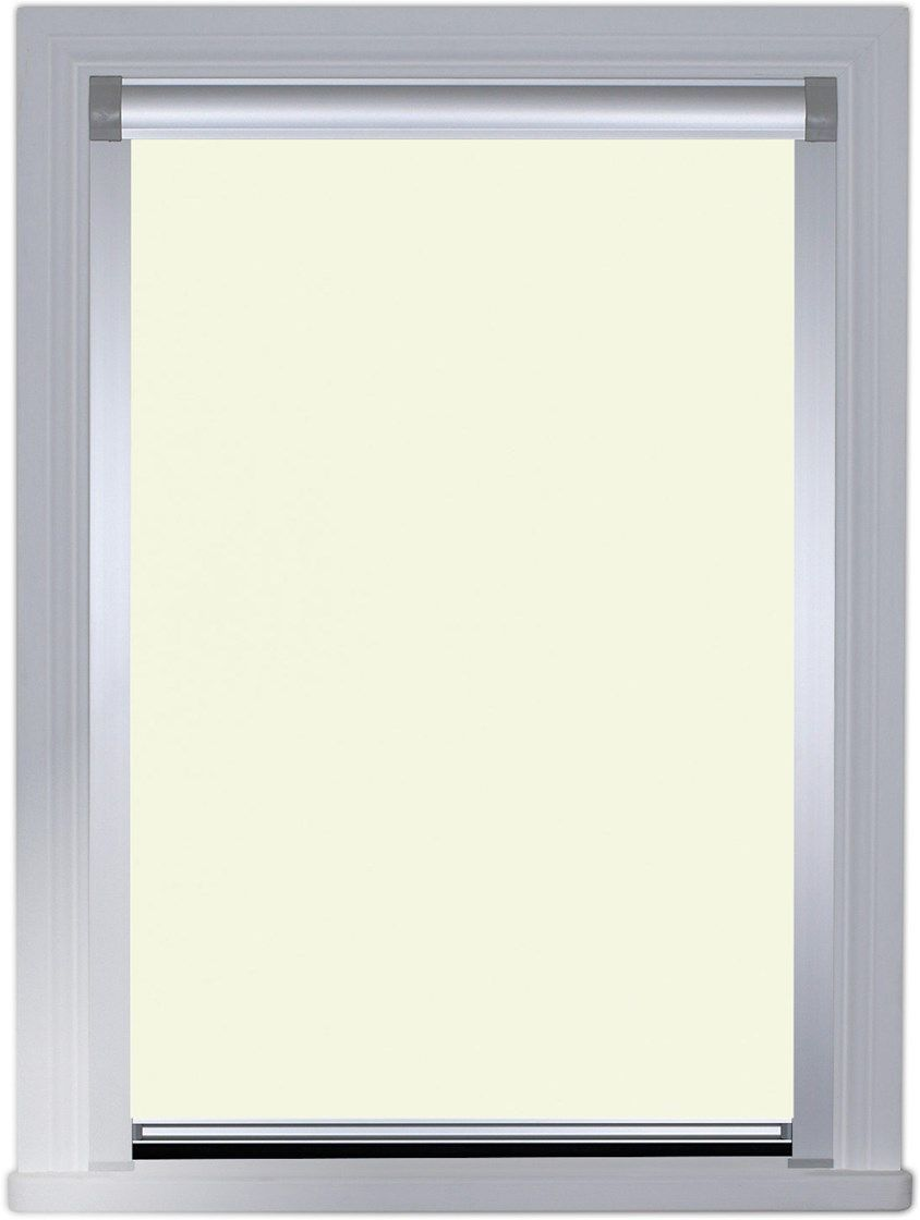 Colour match cotton seed total blackout roller blind