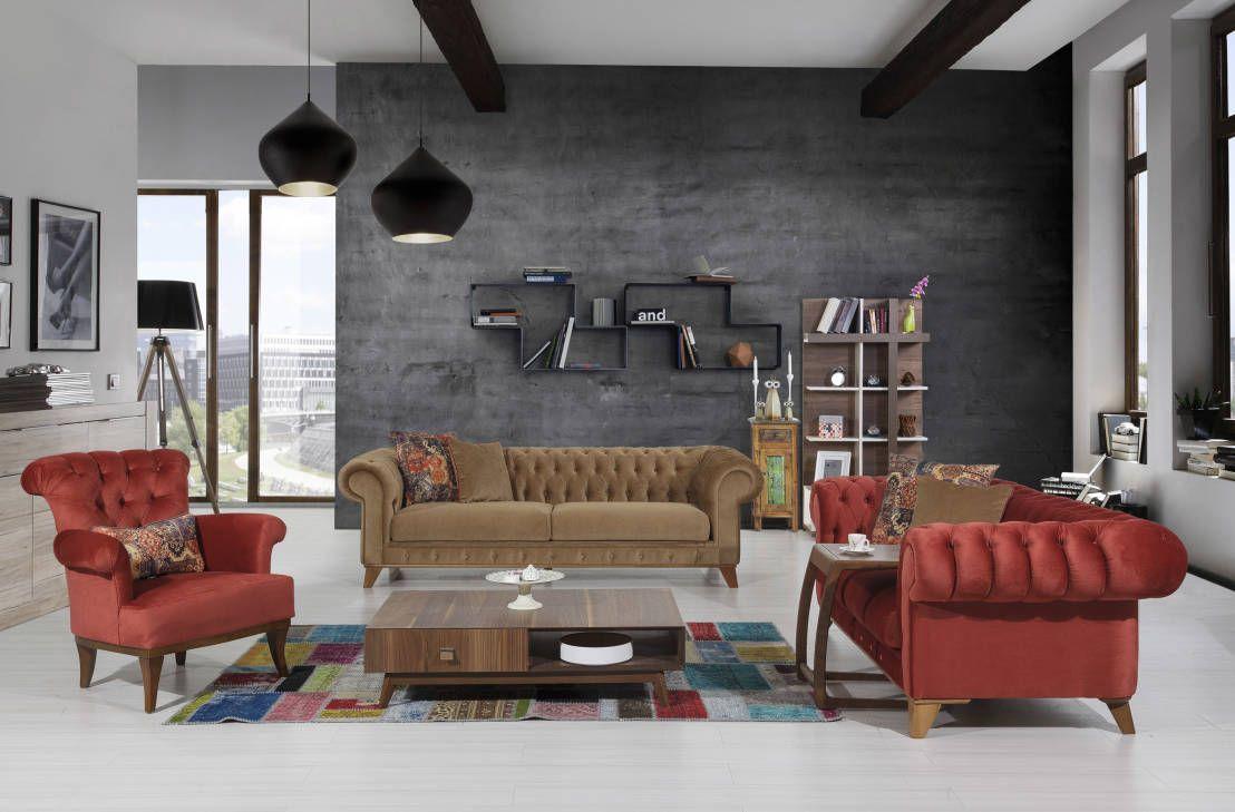 Hereve hal dan 2013 modern hal modelleri ev dekorasyon - Country Ye Il Salon Dekorasyon Rnekleri Google Da Ara Ev Dekorasyon Pinterest Living Rooms And Room