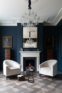 Victorian Living Room by Cochrane Design