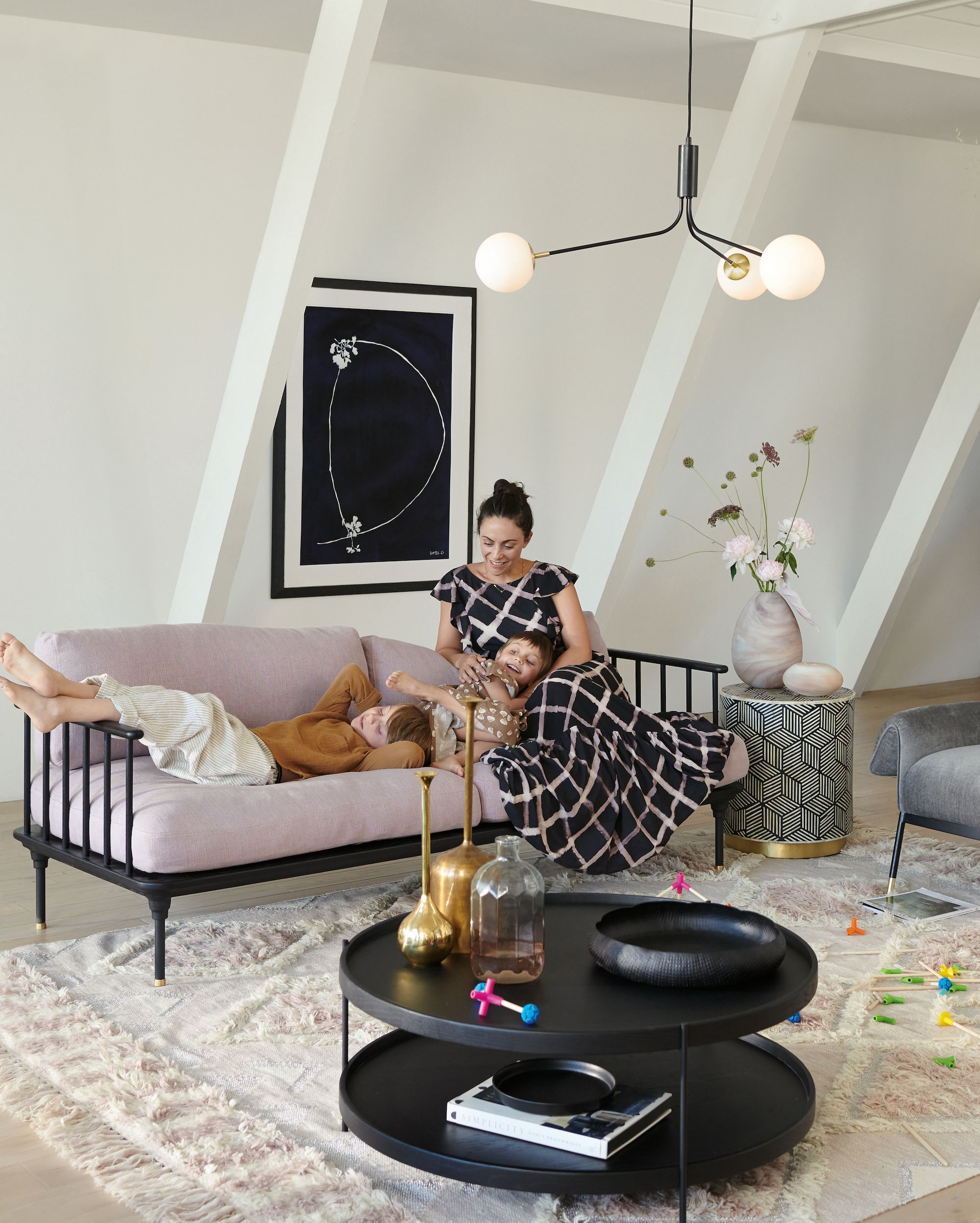 Noir Tiered Coffee Table Scandinavian Design Living Room Living Room Design Inspiration Living Room Designs