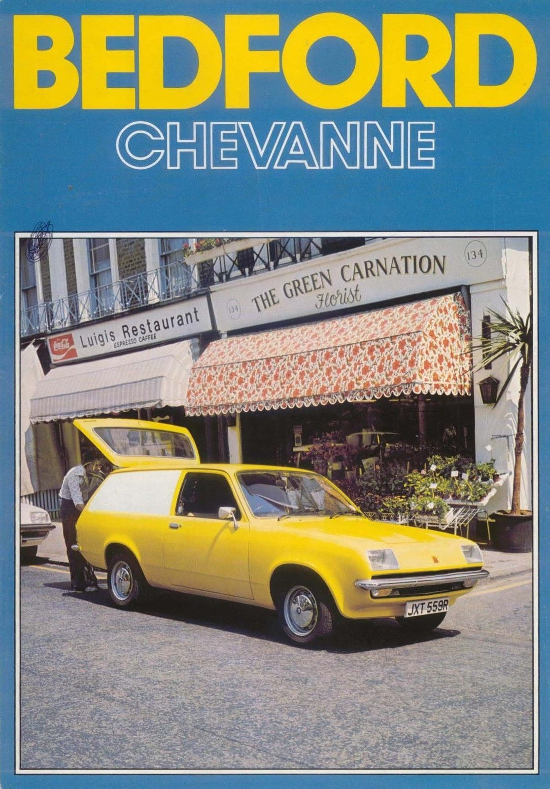 Bedford Chevanne 1977-78 Original UK Sales Brochure B/BX1790 ...
