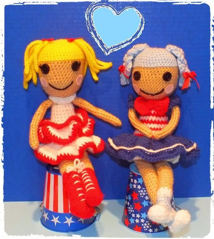4) Name: \'Crocheting : Free LaLaLoopsy Inspired Doll Pattern ...