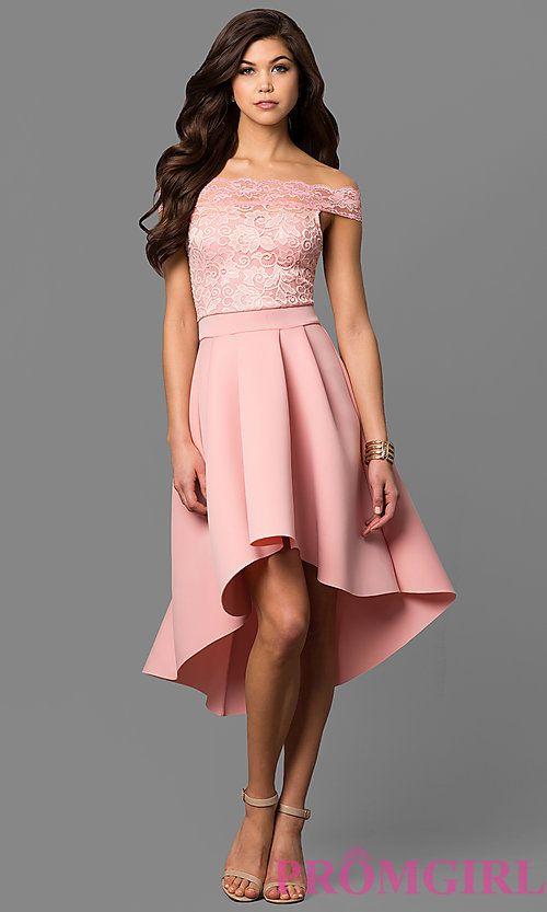 3a1b5c59d0a3 High Low Prom Dresses, Prom Dresses For Teens, Semi Formal Dresses, Fancy N