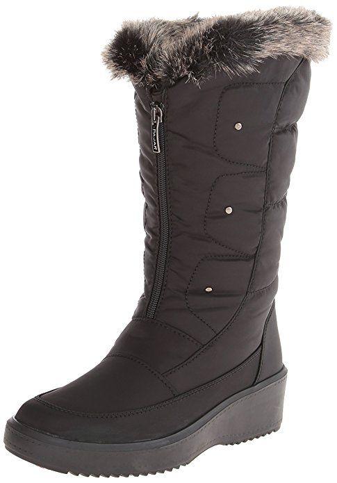 Pajar Women's Louise Snow Boots, Black, ...