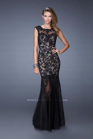 La Femme Prom 20722 Lace Evening Gowns Gowns Formal Dresses Long