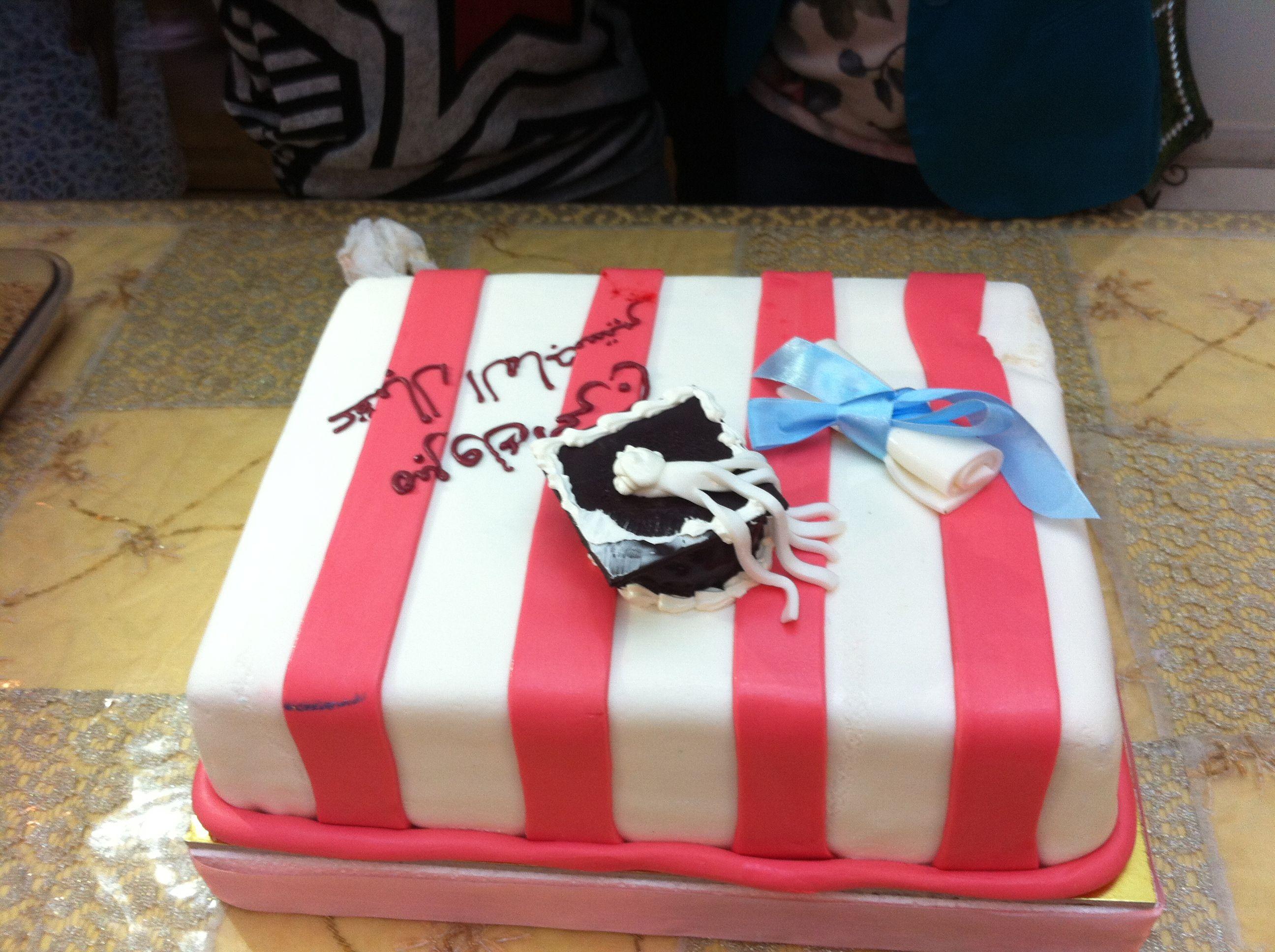 كيكة تخرج من حلويات سعد الدين في السعودية Desserts Cake Sweet