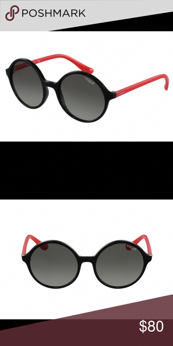 de5b7305420 Vogue Sunglasses Brand New   Aurhentic Model  VO-5036-S W44 1 Frame  Black  and neon red   Lenses  Black gradient Different brand name case and cloth  ...