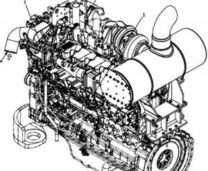 KOMATSU 140-3 Series Diesel Engine Service Repair Shop