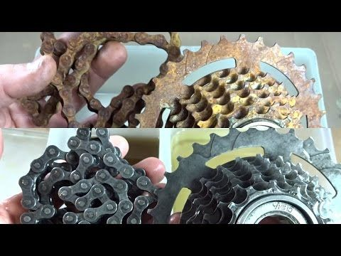 Rusty Freewheel Chain Challenged To Remove The Rust How To