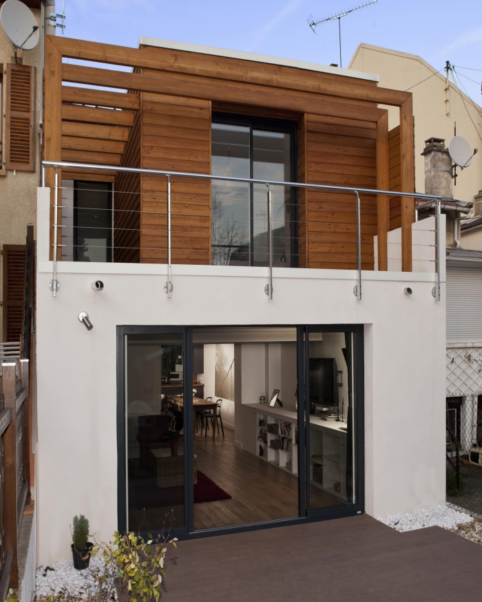 Extension of a townhouse in Lilas (Les): an achievement of 1 MAD Workshop!  – Architecture