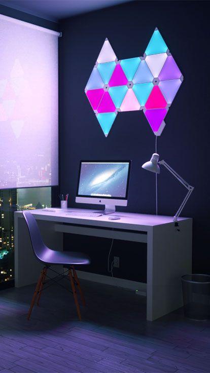 Light Panels Product Page Nanoleaf Me Nanoleaf Designs Smart Lighting Nanoleaf Aurora