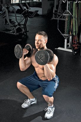 the functional workout routine  men's fitness also