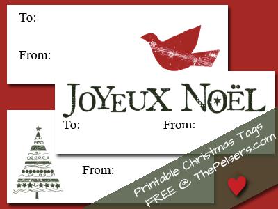 free printable christmas tags christmas pinterest christmas