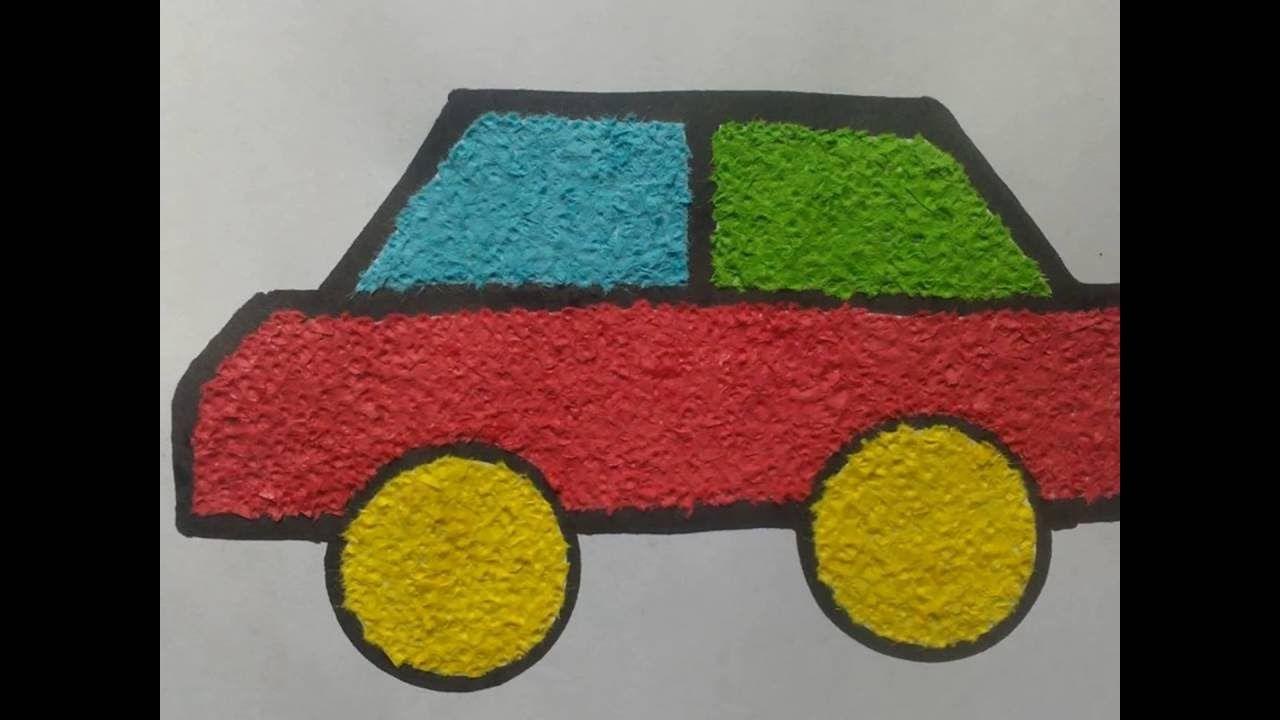 9700 Gambar Kolase Mobil Dari Kertas Origami Terbaik Origami Kolase Gambar