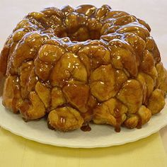 Monkey Bread | Land O'Lakes - made with white dinner rolls, cut into quarters