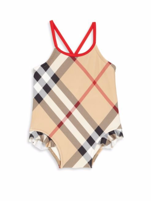 208e1ade6546 Burberry Toddler s Lundy One-Piece swimsuit- New Classic (Size2 ...