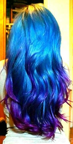 Adore Baby Blue With Images Baby Blue Hair Dyed Hair Blue