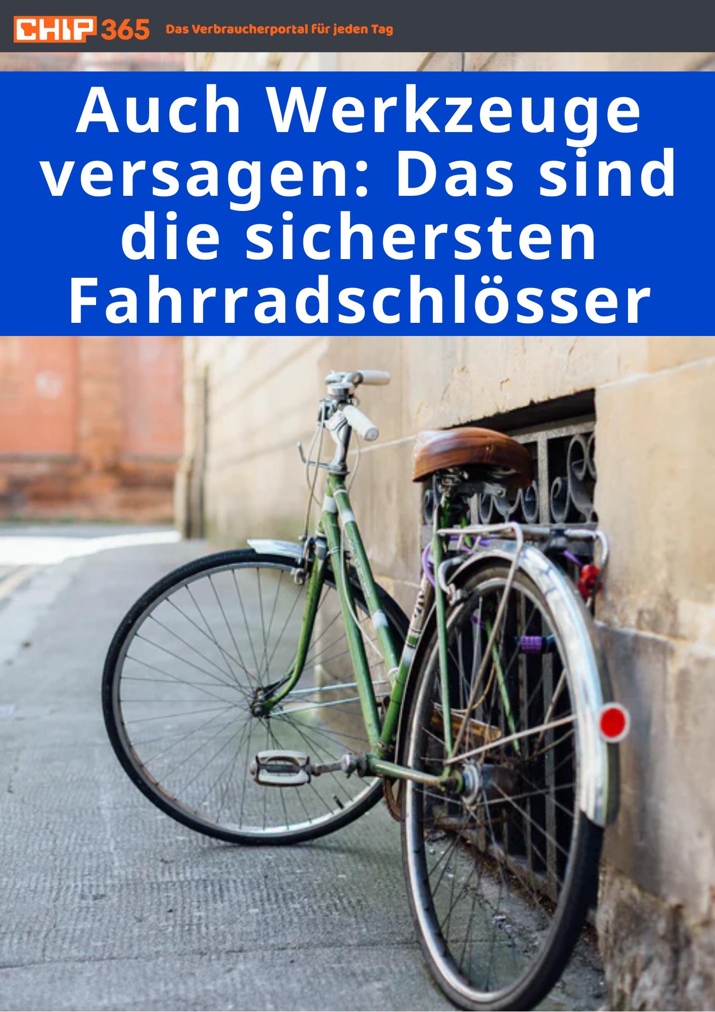 Die Sichersten Fahrradschlösser