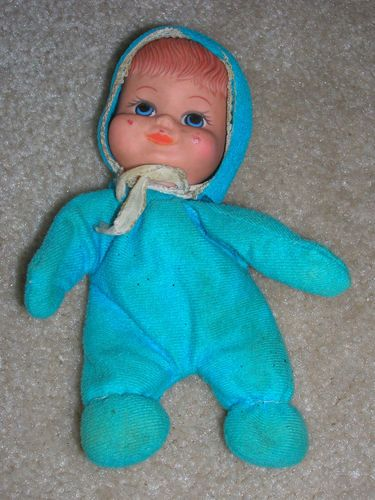 Vintage 1970 S Fun World Bean Bag Baby Doll As Is