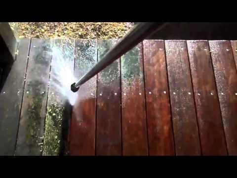 Pressure Wash a Deck like a Professional