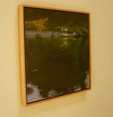 ron guthrie art build an oak floater frame artist at work pinterest floating frame and. Black Bedroom Furniture Sets. Home Design Ideas