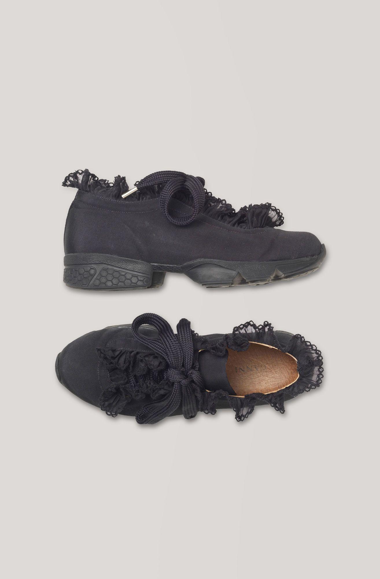Ganni Harriet Sneakers, Black