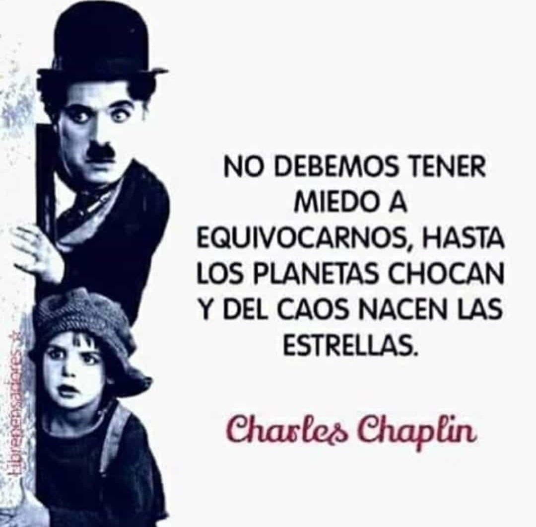 Frase De Charles Chaplin Frases Inspiradoras Frases De