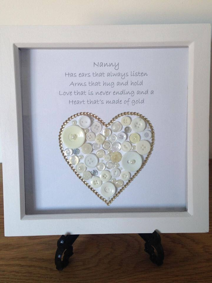 Nanny Gifts Nanny Frame Nanny Picture Frame Personalized Gifts ...