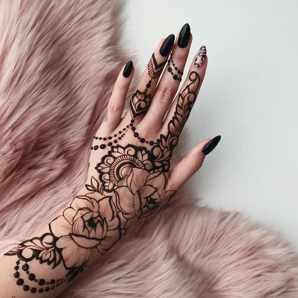 36 Beautiful Henna Tattoo Design Ideas Henna Tattoo Designs Henna Tattoo Hand Henna Tattoo Designs Arm
