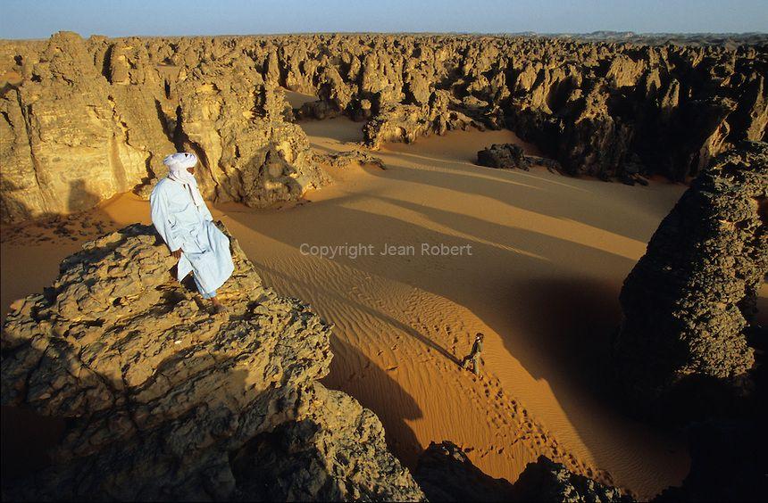 Thousands of turrets and rocky peaks - Tassili of Maghidet, Libya وادي مغديتن صحراء ليبيا