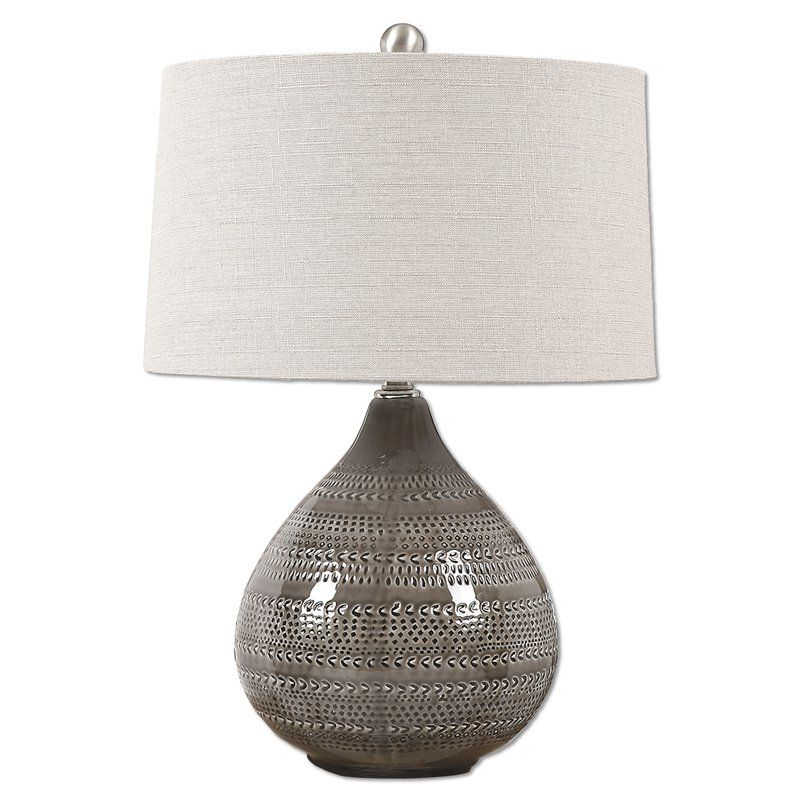 Machuca 25 Table Lamp Grey Lamp Lamp Grey Table Lamps