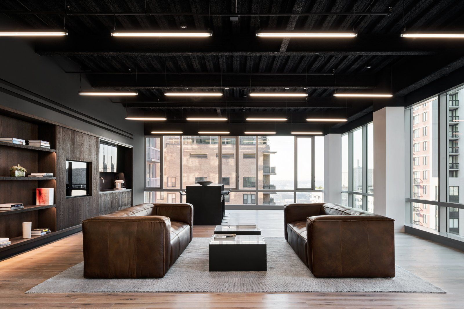 Tewes design nyc executive office seattle interior design - Office Snapshots Discover Worldwide Office Design