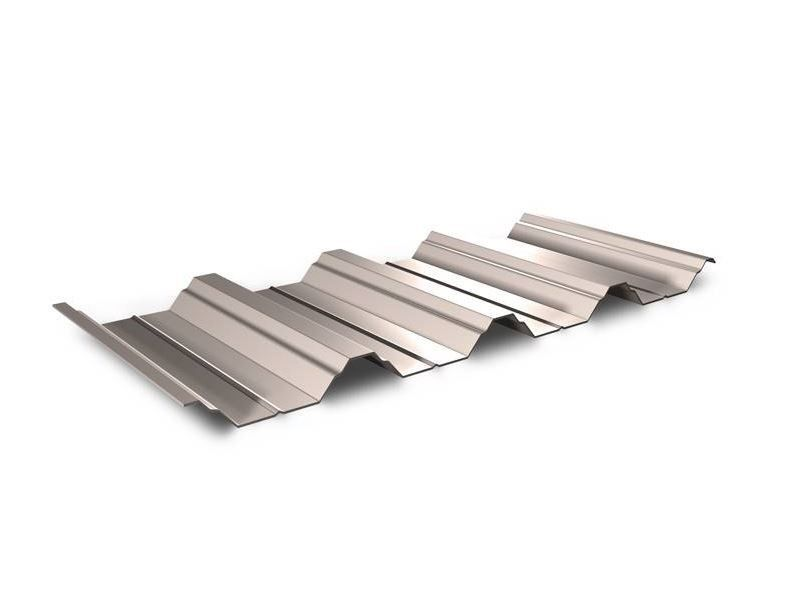 T50 R 1056 Trapezoidal Box Profile Steel Roofing Sheet Gloss Polyester Metal